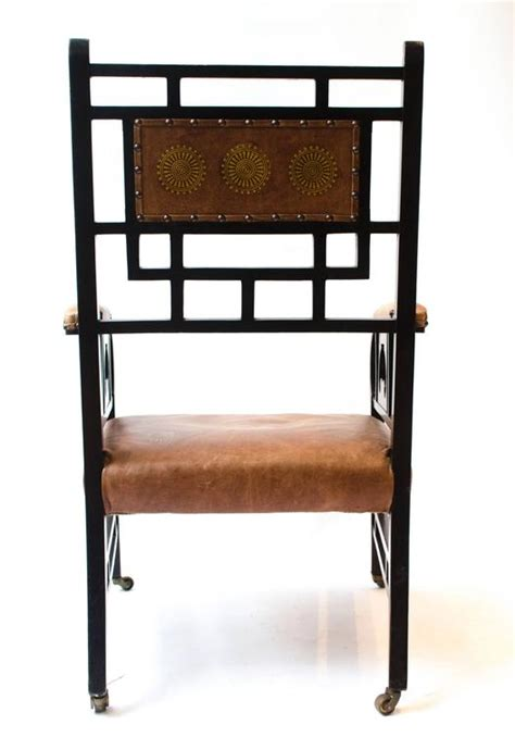 japanese armchair e w godwin probably made by william watt a rare anglo