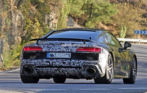 2019 Audi R8 by Spyshots 2019 Audi R8 Gt Flaunts Two Oval Exhaust