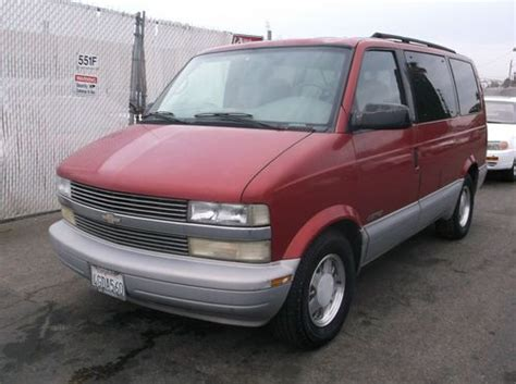 purchase   chevy astro  reserve  orange