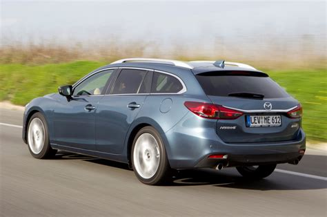 mazda 6 estate 2012 photos parkers