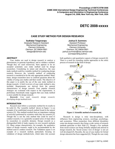 design justification definition case study method for design research a justification