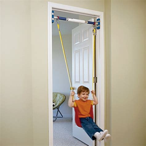 baby swing door frame swing anywhere with the door frame swing technabob