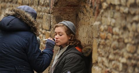 sophie cookson red joan brit star sophie cookson has been filming a new spy