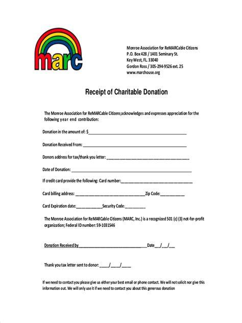 9 tax donation receipt templates excel templates