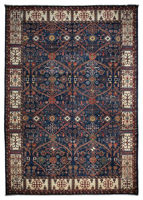 10x14 Wool Area Rugs Ziegler Wool Area Rug Blue 10x14 Traditional Area Rugs By Rugs