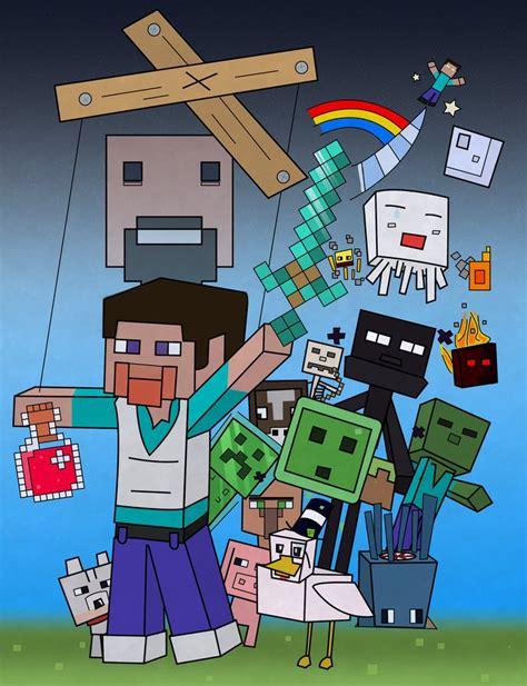 fan craft pixel puppetry minecraft fan by fudgelovinhippy on
