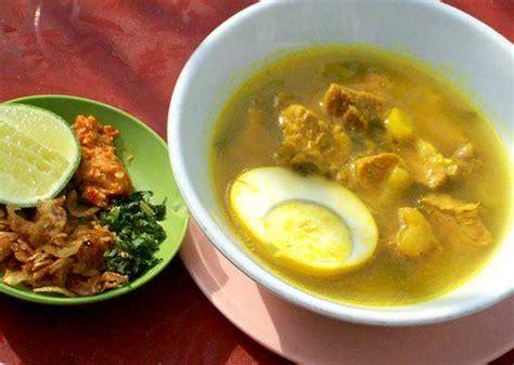 gambar dan cara membuat soto ayam aneka resep soto daging resep masakan khas nusantara