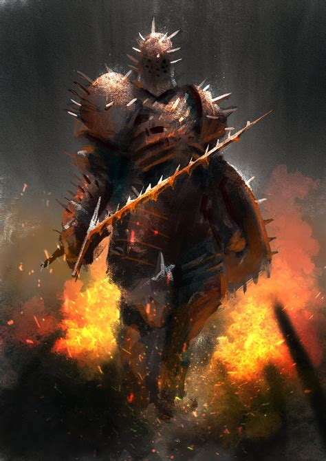 knight of thorns by conorburkeart on deviantart
