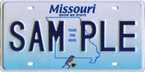 Missouri Vanity Plates by Missouri License Plates