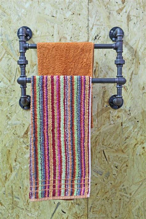 badezimmer regal industrial industrial towel rack shelf rustic bathroom accessories