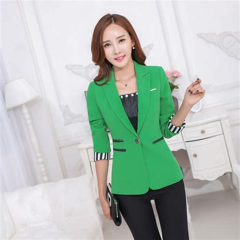 Blazer Green Style Style 42 popular green blazer buy cheap green blazer lots from china green blazer suppliers on aliexpress