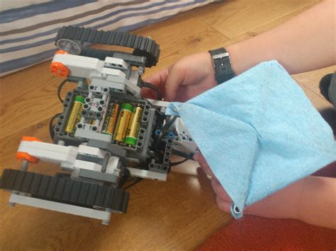 Floor Cleaning Robot Project by Legorobot Pl Lego Mindstorms Nxt 2 0 Projects By