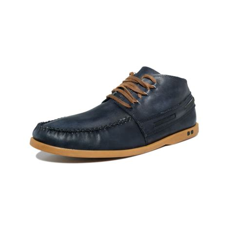 bed stu shoes mens bed stu uncle dowell chukka boots in black for men black