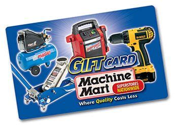 Machines That Take Gift Cards - machine mart gift card news