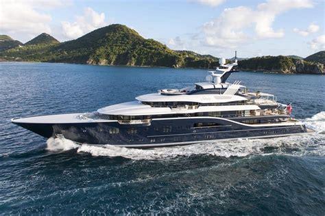 Luxury Yacht Interiors by Solandge Is An Impressive 85 Meter Superyacht