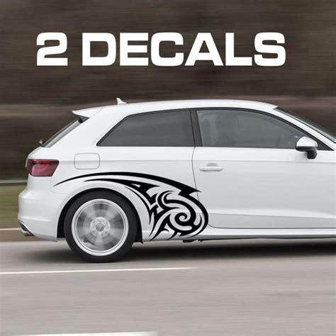 tribal design car door decal sticker car door fender