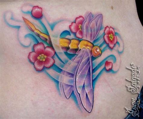 dragonfly tattoo by juan salgado tattoonow