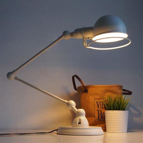 Nordic Vintage Black White Desk Light E27 Office Study White Light Desk L