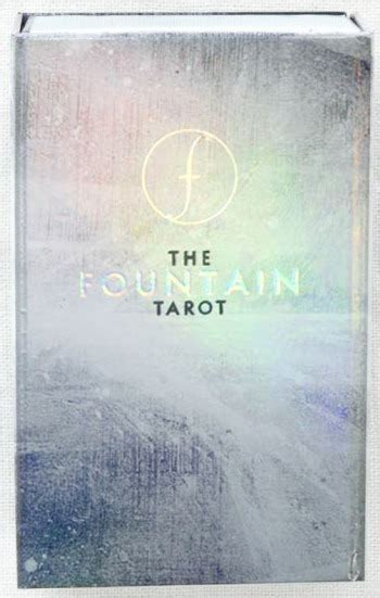 the fountain tarot illustrated fountain tarot banyen books sound