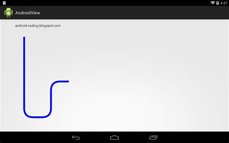android layout rounded corners programmatically android coding draw rounded corner line along path with
