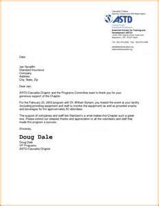 Thank You Letter For Award Sponsor sponsor thank you letter scholarship letters