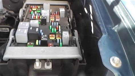 Gmc And Chevrolet Truck Fuse Box Locations Youtube
