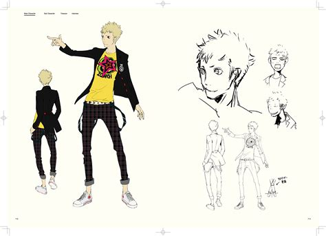 the art of persona persona 5 gets art book with character sketches and storyboards