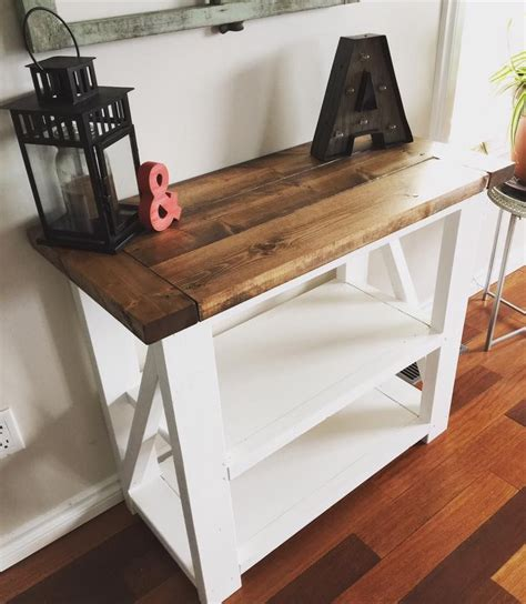 rustic home decor ana white diy shanty 2 chic rustic home decor ana white entry way console table