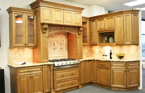 Toffee Kitchen Cabinets by Glazed Toffee Kitchen Cabinets New Home Ideas