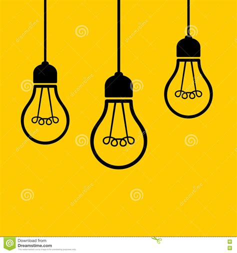 hanging from the ceiling light bulbs hanging from the ceiling vector stock vector