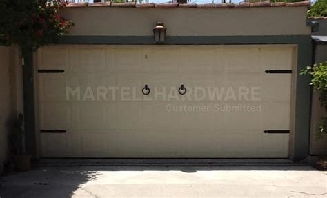 Decorative Garage Door Hardware Kit Agave Ironworks Wrought Iron Decorative Garage Door Kits Carriage Door Hardware Kits