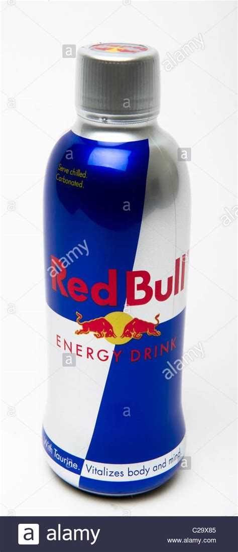 red martini bottle red bull energy drink bottle stock photo royalty free