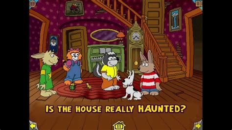 harry and the haunted house harry and the haunted house a wanderful interactive storybook living books youtube