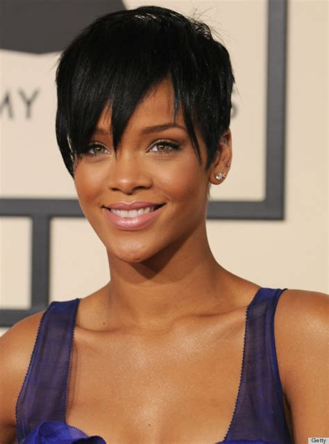 r stage short hair styles 2009 rihanna s grammys hair is the best thing about the grammys