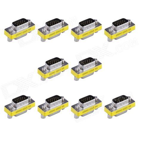 Promo Vga Gender 15pin Mini Gender Changer 15 pin vga to vga mini gender changer adapters