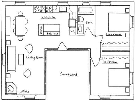 18 amazing h shaped house plans home building plans 66786 u shaped house floor plans