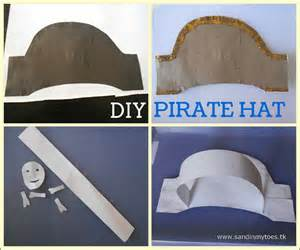 Make Your Own Paper Hat - busy diy pirate hat