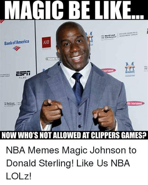 Magic Johnson Meme - 25 best memes about donald sterling donald sterling memes