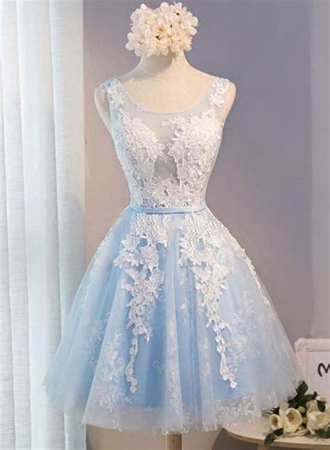 light blue short homecoming dresses lovely formal dress