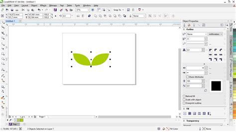 membuat gambar transparan di coreldraw membuat gambar jadi 3d di corel cara membuat gambar daun