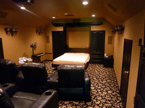 bed theater rkhobbit s home theater gallery home theater 21 photos
