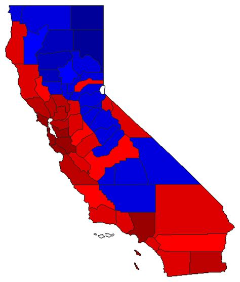 california map election 2016 2016 presidential general election results california
