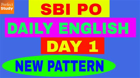 english pattern for ibps po ibps po daily english new pattern high level day 1