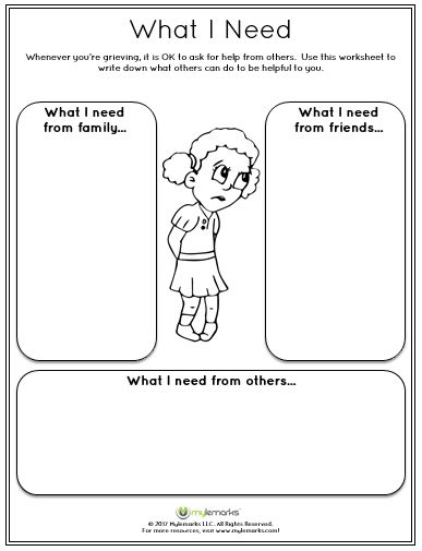 Grief And Loss Worksheets by Grief Worksheets
