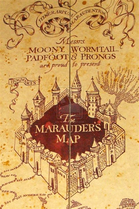 Kfed Pokes At Himself by Marauder S Map 11 Harry Potter Themed And Gift