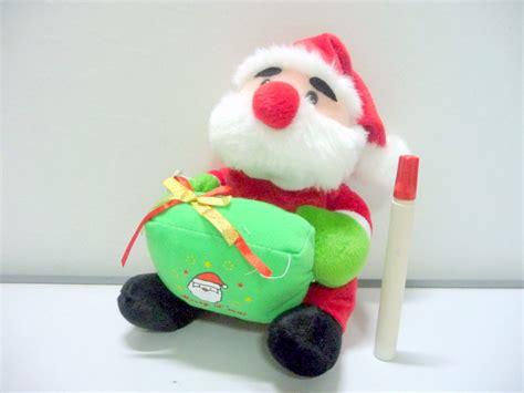 Standing Boneka gambar boneka natal lucu gambar boneka sumba toys