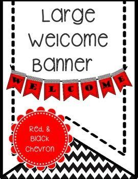 printable welcome banner for classroom best 25 red classroom ideas on pinterest turquoise and