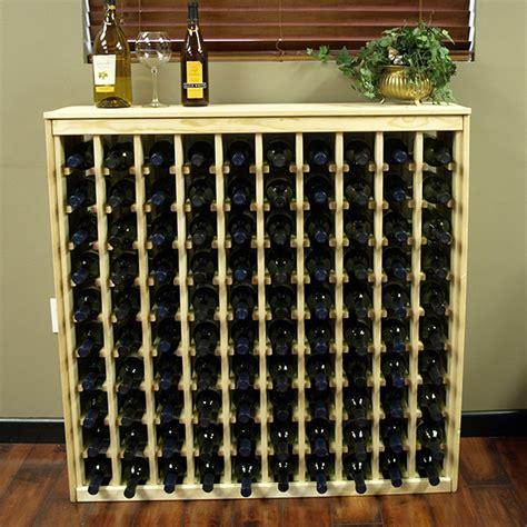 Ebay Wine Racks by 100 Bottle Ponderosa Pine Cabinet Style Wine Rack Kit