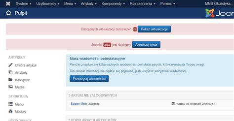 joomla tutorial na srpskom jak zaktualizować cms joomla 3 x do wyższej wersji