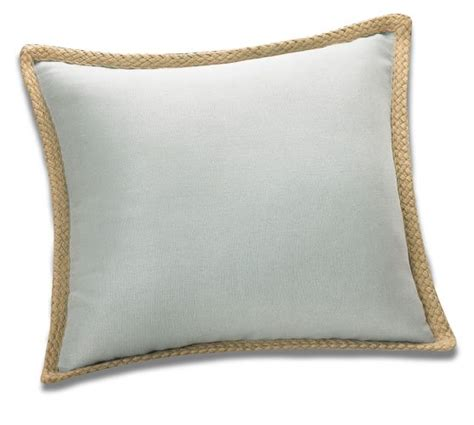 Jute Pillow by Jute Braid Pillow Cover Pottery Barn